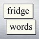 Fridge Words Sticker Pack
